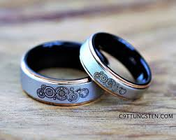 doctor who wedding ring doctor who ring etsy