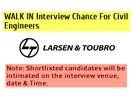 How To Shortlist Resumes Larsen U0026 Toubro Limited L U0026t Walk In Interview Chance For Civil