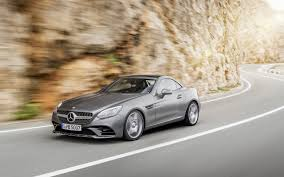 the new 2017 slc mercedes benz