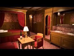 Titanic 1st Class Dining Room Titanic Ii First Class Cabin Youtube