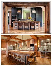 cuisine de style rustic style for the kitchen drummond house plans