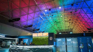 keflavik airport iceland nulty lighting design consultants