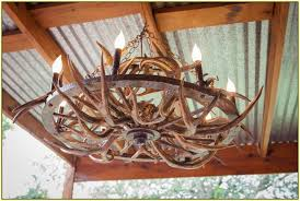 How To Make Antler Chandeliers Faux White Antler Chandelier Images Unique Faux White Antler