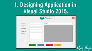 Desk Top Design 1 How To Create Simple C Desktop Application Designing The