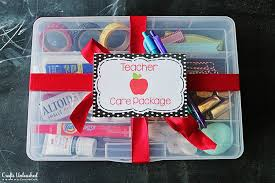 new care package care package ideas back to school gift