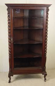 Just Cabinets And More by Geo C Flint Co Oak Corner China Cabinet I Just Love The