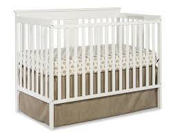 Crib With Mattress Furniture Simply White Bassinet Vs Crib With Mattress