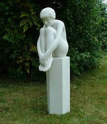 melina on column sculpture large garden statue buy now at