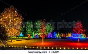 hudson gardens christmas lights a hudson christmas holiday light show at hudson gardens littleton