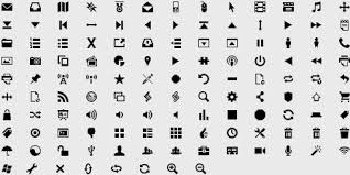 simple small icons vector graphics free vector 21 850