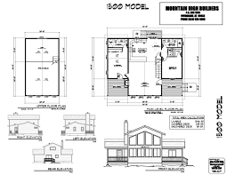 floor plans custom home building from mountain high builders