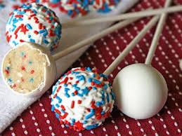 4th of july desserts patriotic confetti cake pops recipe recipe