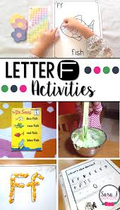 letter f activities sara j creations