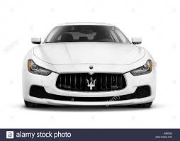 maserati vector white 2014 maserati ghibli s q4 luxury car front view isolated on