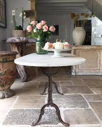 Oval Bistro Table 19thc Garden Table With Original Oval Marble Top Interior