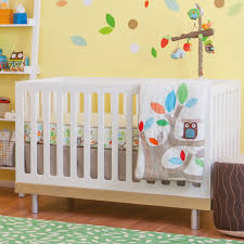skip hop treetop friends neutral crib bedding giveaway