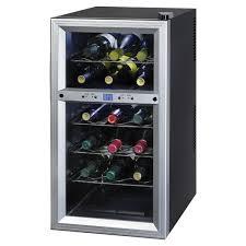 kalorik 18 bottle dual zone freestanding wine cooler u0026 reviews