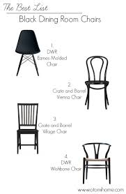 the best list black dining room chairs megan bachmann interiors otomihome the best list black dining room chairs