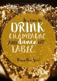 online new year cards drink chagne and happy new year new year cards send real
