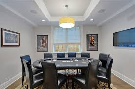 how to design a home poker room small design ideas