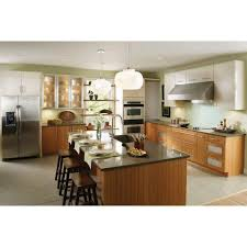 bamboo cabinets home depot innermost 14x12 in st lucia cabinet door sle in bamboo natural