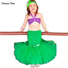 Mermaid Halloween Costume Toddler Popular Ariel Mermaid Tutu Buy Cheap Ariel Mermaid Tutu Lots