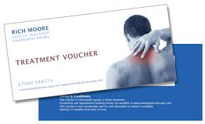Sports Massage Business Cards Give A Sports Massage Gift Voucher This Xmas Richard Moore