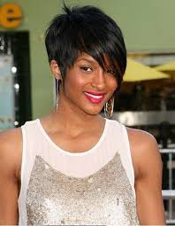 women hairstyles 2015 shorter or sides and longer in back long bob hairstyles with blunt bangs for black women cute women