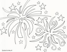 free printable fireworks coloring pages for kids new itgod me