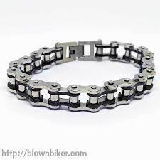 steel link bracelet images 316l stainless steel quot gold link quot bracelet blown biker jpg