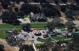 backyard theme park michael jackson neverland ranch rollercoaster is on the market for