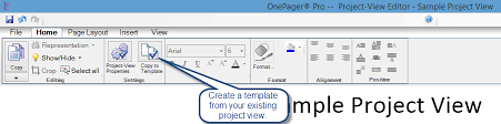 gantt chart templates for microsoft project onepager pro