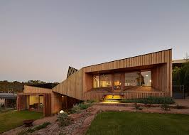 level house bkk architects designs split level house on offset topography