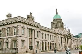 bureau douane le bureau de douane dublin irlande photographie éditorial image