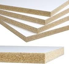 Melamine Laminate Flooring Melamine White Shelf Board Common 3 4 In X 23 3 4 In X 4 Ft