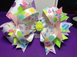 easter hair bows 43 best easter hair bows images on hair bows bows and