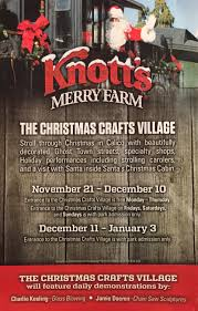 knott u0027s merry farm christmas craft village