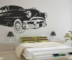 vintage car wall decal car wall decals stickerbrand vinyl wall decal sticker classic american car os mb669