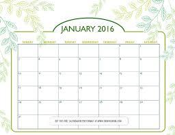 printable planner january 2015 all lovely free printable january 2016 calendars