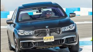 maserati v12 engine bmw m760li on palm springs raceway great sound from v12 biturbo