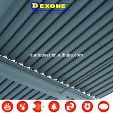 Louvered Roof Pergola by Electric Roof Shutter Electric Roof Shutter Suppliers And
