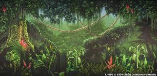 jungle backdrop backdrop tj002 tropical jungle 2