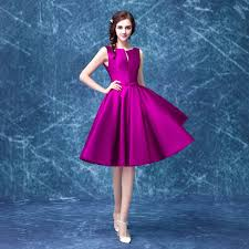 purple dresses for weddings knee length wholesale cheap purple knee length wedding dress