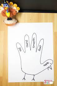 thanksgiving speech therapy craft turkeys speech 2u