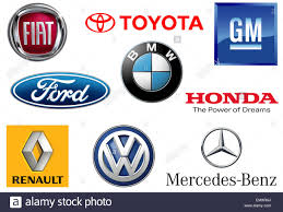 mercedes logos toyota volkswagen gm general motors ford bmw mercedes daimler