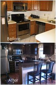 remodel small kitchen ideas frankfully guest post fool your friends fake granite countertops