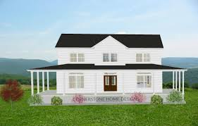 farmhouse plans with wrap around porches best the magnolia farmhouse plan sq ft simple layout story pics of