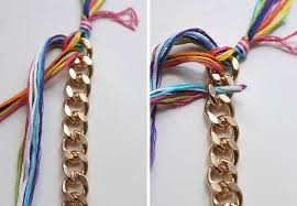 braided bracelet with chain images Braided chain bracelet how to make a chain bracelet jewelry on jpg