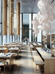 interior design concepts archdaily restaurant plan diego querols the anese visuals ronen