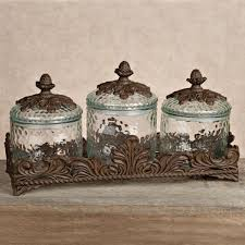 glass kitchen canister set 16 best country canisters images on kitchen